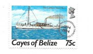 Cayes of Belize 1984 - MNH - Scott #20 *