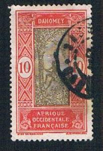 Dahomey 49 Used Man climbing Oil Palm (BP09914)