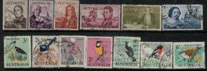 Australia 1963-1965 SC 365-379 Used SCV$ 161.90 Set
