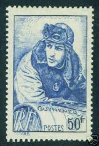FRANCE Scott 396 Yvert 461 MH* CV 10 Euro WWI ACE