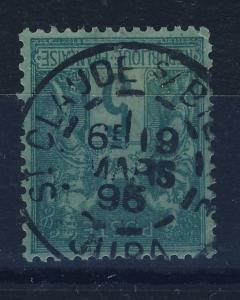 FRANCE 1895 N°75 5c Sage T.II oblitéré cad  St CLAUDE-s/BIENNE / JURA