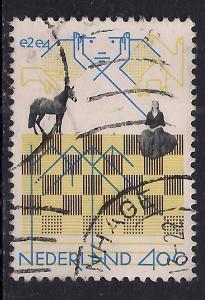 Netherlands/Holland 40ct used stamp.(772 )