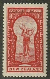 NEW ZEALAND Sc#B8 Health Issue (1935 ) toning MH