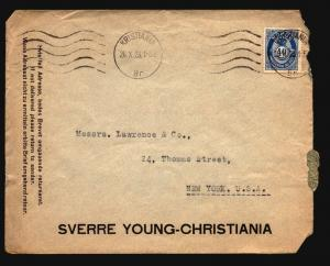 Norway - 3 1920s Commercial Covers (See Image For Condition) - Z15975