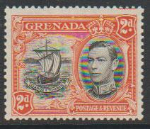 Grenada  GVI SG 156a perf 13½ x 12½ Light mounted mint