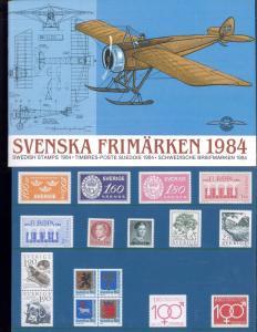 1984 Sweden Swedish Official Booklet Postage Stamp Yearset Collection Svenska
