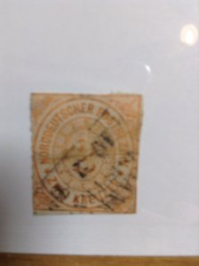 Germany  (North German Conf) SC #8  Used