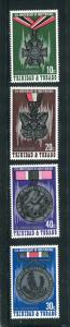 Trinidad & Tobago MNH 235-8 11th Anniversary Of Independence