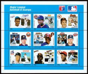 Grenada Scott 1666 Baseball Series (1988) Mint NH VF C