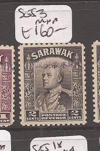 Sarawak Jap Oc 2c SG J3 MNH (7axm)
