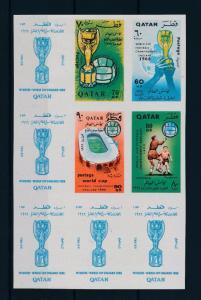 [60537] Qatar 1966 World Cup Soccer Football England Imperforated Rare MNH
