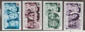 Tuvalu Scott #594-597 Stamps - Mint NH Set