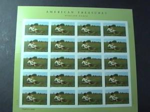 U.S.# 4473-MINT/NEVER HINGED--PANE OF 20--AMERICAN TREASURES/HOMER---2010