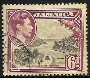 Jamaica 1950 Scott# 123 Used