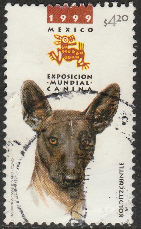 MEXICO 2149b, INTERNATIONAL DOG SHOW, XOLOITZCUINTLE, USED. VF. (1264)