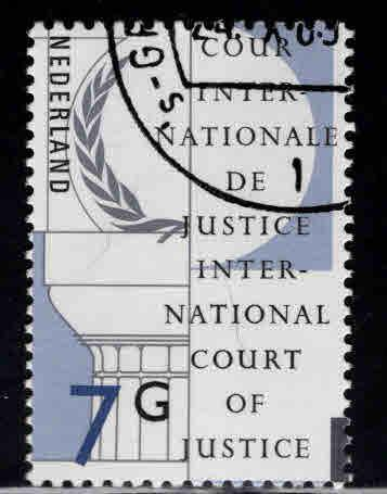 Netherlands Scott o58 Used CTO official stamp top value in set