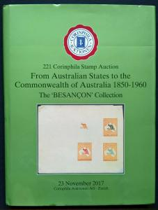 Auction Catalogue AUSTRALIAN STATES to COMMONWEALTH of Australia 1850-1960