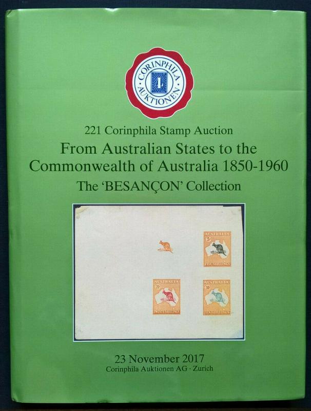 Auction Catalogue AUSTRALIAN STATES to COMMONWEALTH of Australia 1850-1960
