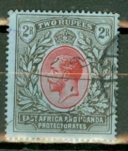 East Africa & Uganda 50 used CV $50