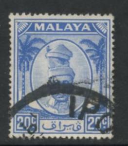 Malaya Perak Sct # 123; Used