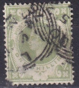 Great Britain #122 F-VF Used CV $72.50 (Z3929)