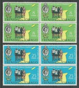 1961 Scouts Trinidad & Tobago 2nd Caribbean Jamboree block