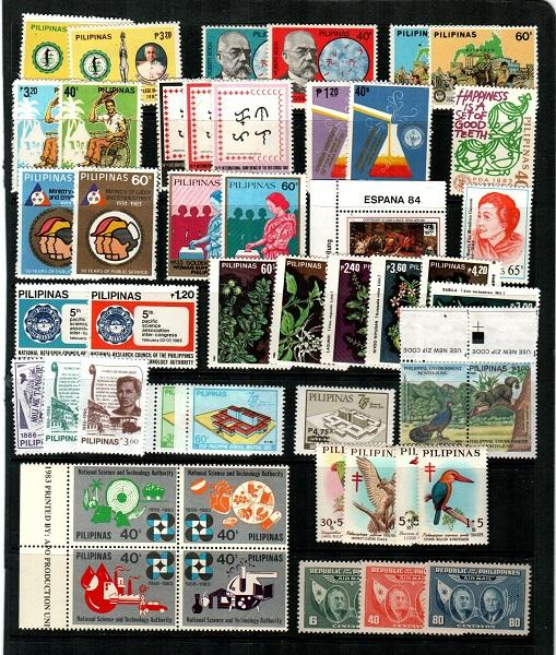Philippines NH sets (Catalog Value $77.70) [TC942]