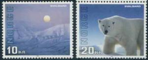 Norway 1115-6 MNH Svalbard, Polar Bear