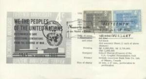 UN #83/84 15th ANNIVERSARY - Spec Sheet