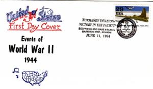 1994 50th Anniv End of WWII Selfridge ANG Base Artopage