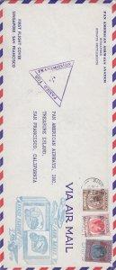 1941, 1st Flt. Singapore-San Francisco, CA (S18108)