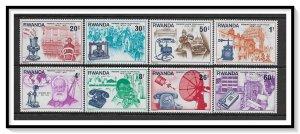 Rwanda #746-753 Alexander Graham Bell Set MNH