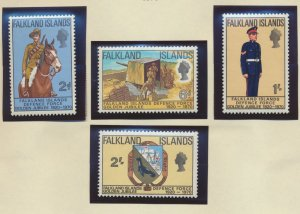 Falkland Islands Stamps Scott #188 To 191, Mint Never Hinged - Free U.S. Ship...