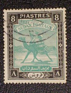 Sudan Scott #91 used