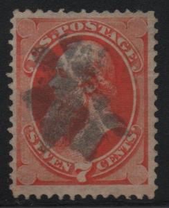 US Scott #149 VF Used Stamp With SON GST-25 Rosette Cancel