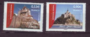 J20489 Jlstamps 2006 france set mnh #3219-20 unesco