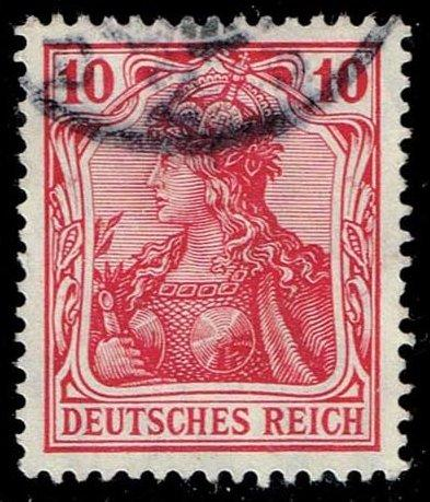 Germany #83 Germania; Used (1.50)