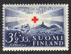 Finland Scott B38 F to VF mint OG NH.