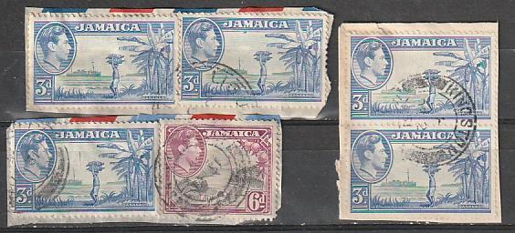 #140,123 Jamaica Used on paper
