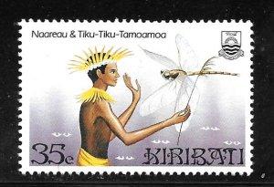 Kiribati 450: 35c Naareau and Tiku-Tiku, MH, VF