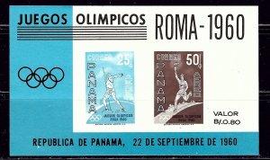 Panama C237a MNH 1960 Olympics