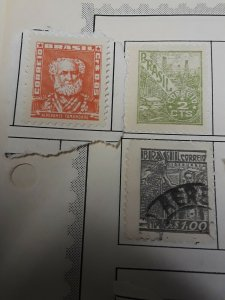 Mint And Used Brazil Stamps