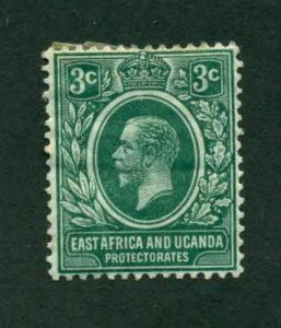East Africa and Uganda 1912 #41 MH SCV (2018) = $2.50