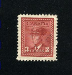 Canada #251  -1  used     PD
