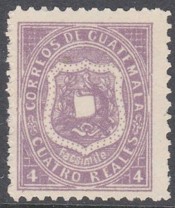 GUATEMALA  An old forgery of a classic stamp................................C927