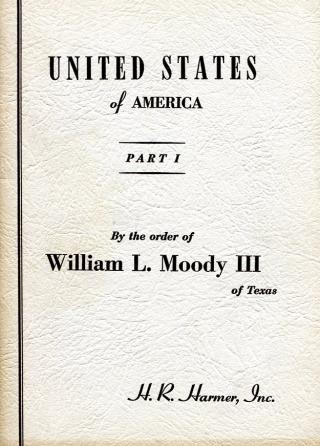 Auction - MOODY Parts 1-3 US & CSA Complete, 1950