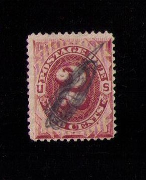 US Sc #J16 Used Postage Due F-VF