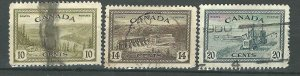 C  #269, 270, 271   -2   used  1946 PD