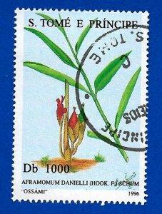 St. Thomas and Prince Islands 1996 - U - Scott #1290H *