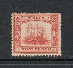 Malta, Sc 16 (SG 33), Mint, large HR
